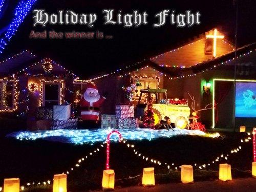 plenty of christmas lights on display as chamber picks the best light show - How To Make A Christmas Light Show