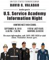 Congressman hosts U.S. Service Academy information night at Hanford West Sept. 19