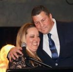Amy Ward, pictured here with former Lemoore Police Chief Darrell Smith, will be honored as a Kings County exceptional woman by Rep. TJ Cox at the Valiant Awards scheduled for August 25.