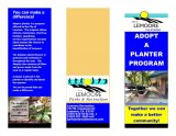 City of Lemoore Recreation Department Adopt a Planter Program announced
