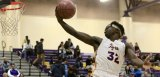 Lemoore's Daniel Charleston reaches for a layup in Tuesday's 57-45 victory over Golden West. Lemoore then defeated Mt. Whitney on Thursday to win the West Yosemite League championship.