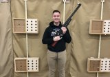 Senior NJROTC Senior Cadet William Wilkins is Lemoore's top marksman and will compete against the nation's best in a national NJROTC event scheduled for Feb. 7-9 in Anniston, Alabama.