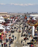 The annual Tulare World Ag Expo enjoyed clear days during its Feb. 11-13 run last week as the Sierra Nevada mountains loomed in the background. The annual Expo draws over 100,000 persons each year and nearly 1,500 exhibitors.