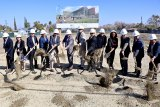 Numerous officials gathered on Feb. 7 to break ground for the West Hills College District New North District Center Building in Firebaugh.