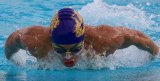 Lemoore's Daniel Bermea won a pair of events in Thursday's tri-meet against Corcoran and Mission Oak in the Tigers' pool.