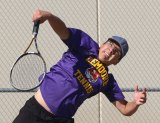 Lemoore's Luis Renteria won his match Tuesday against Hanford and will head to the West Yosemite League Championships as the No. 2 seed.