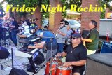 There is good music at the Friday night Rockin' the Arbor. A huge crowd showed up for the Rockin' opener June 1.