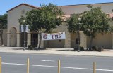 "Lemoore High School's ""Welcome Banner"" stands alone in the school's student parking lot."