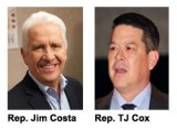 Representatives Jim Costa, TJ Cox work to ensure reliable water supplies for California