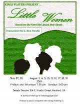 Kings Players to perform Louisa May Alcott's 'Little Women' beginning in July