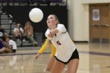 Lemoore volleyball standout Shelby Saporetti was a First Team, All WYL pick. She was the only Tiger to earn a spot on the league's top squad.