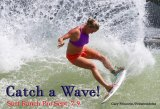 Bethany Hamilton, a survivor of a 2013 shark attack, checks out the Surf Ranch on Tuesday Aug. 28, in anticipation of next week's World Surf League Pro event, scheduled for Sept. 7-9.