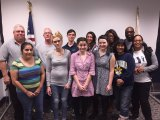 Members of the most recent Lemoore Police Department's Citizens' Academy.