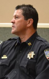 Lemoore Police Chief Darrell Smith