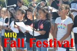 MIQ students performed a few songs for attendees of the school's annual Fall Festival.
