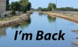Kings County: Water flowing in canals and rivers in and around Lemoore