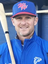 Falcon Baseball Coach Jason Smith