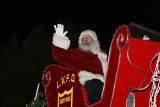 Santa Claus is a regular visitor to the Lemoore Christmas Parade. The annual parade will expand this year to meet the challenge of more spectators.