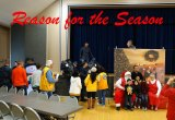 "Lemoore Christian Aid and the Lemoore Police Department joined forces for the annual ""Reason for the Season."""
