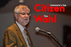 Tim Wahl honored as Lemoore Citizen of the Year.