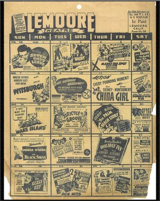 lemoore movies times