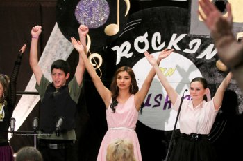 Good music, good food, at Lemoore High Choir's Rockin' on Bush Street Saturday night