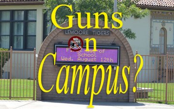 Guns in Lemoore schools? Local school officials say gun issue needs more study
