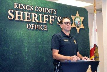 Kings County Sheriff David Robinson (file photo)