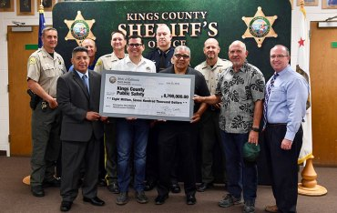 Assemblymember Rudy Salas assisted the Kings County Sheriff's Department and the Corcoran PD in obtaining funding for a pair of projects, including a new headquarters for the sheriff's office.