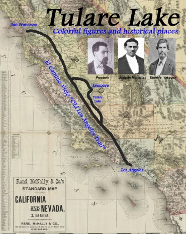 """El Camino Viejo, or """"The Old Los Angeles Trail"""" was a key thoroughfare in California. Even California's notorious villains used the trail."""