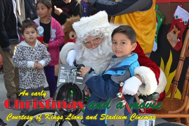 Lemoore Stadium Cinemas, Kings Lions host Third Annual 'Movies with Santa'