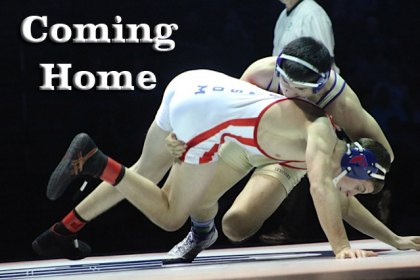 Isaiah Martinez during his State title match in 2013.
