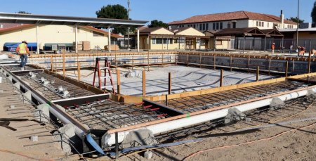 Renovation of the LHS pool is expected to be completed soon.