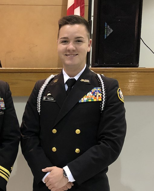Lemoore High School NJROTC cadet William Wilkins earns appointment