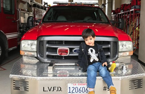 Michael Avila will be helping to fight cancer as he and friends sell lemonade on June 2 from 8:30 a.m. to 2 p.m. at 445 South 19th Ave. in Lemoore.