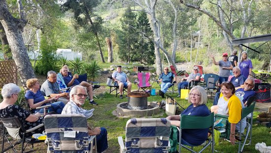 Members of the Lemoore RV (Recreational Vehicle) Club enjoying the outdoors on a recent excursion. The club's next meeting is Wednesday, May 8 at 6 p.m. at the Lemoore Veterans Hall at 411 West D Street. Interested campers are welcome.