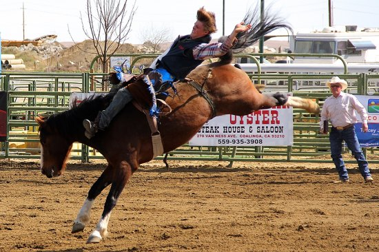 File photo from previous West Hills College rodeo event.