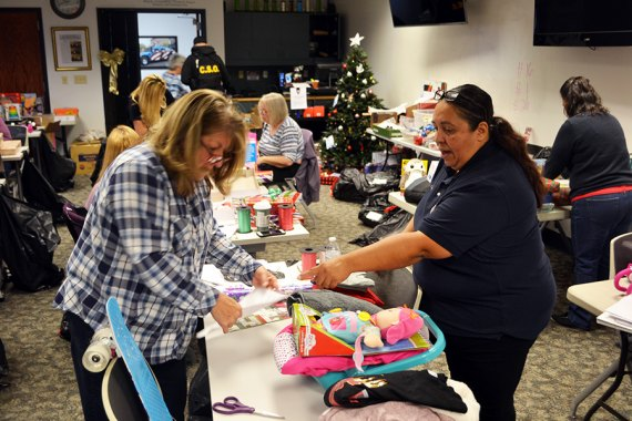 Reason For The Season Brings Gifts And Holiday Food Baskets To 47 Lemoore Families This Christmas The Leader