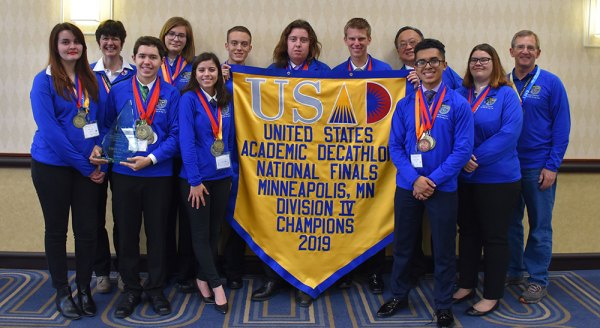 1a9059379 Middle College High earns second straight title at National Academic  Decathlon