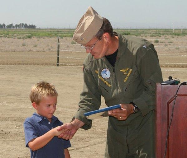 Aviator Memorial groundbreaking held at NAS Lemoore
