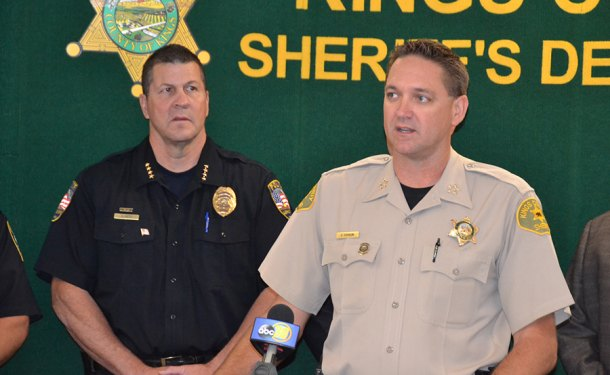 Kings County Sheriff and law enforcement agencies cooperate